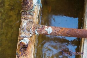 A Corroded Pipe